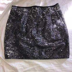 Sequined J. Crew skirt